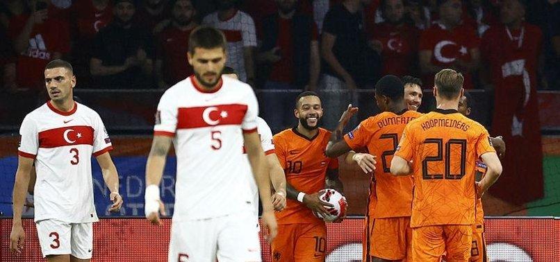 Türkiye Hollanda'ya 6-1 mağlup oldu! İşte güncel puan durumu - Aspor