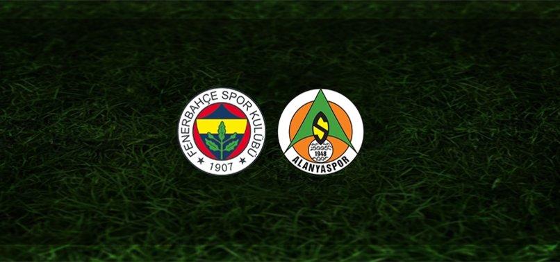 Fenerbahçe 1-1 Aytemiz Alanyaspor | MAÇ SONUCU