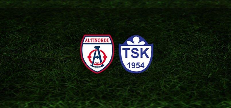 Altınordu - Tuzlaspor maçı ne zaman, saat kaçta ve hangi kanalda?   TFF 1. Lig