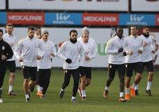 G.Saray, Bursaspor maçının hazırlıklarını tamamladı