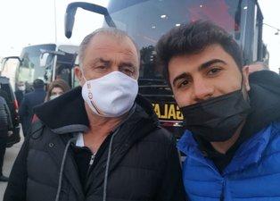 Galatasaray kafilesi Malatya'ya geldi! Fatih Terim'e yoğun ilgi