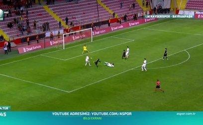İM Kayserispor 2-0 Bayrampaşaspor (ÖZET)