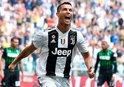 Ronaldo Juventusta golle tanıştı
