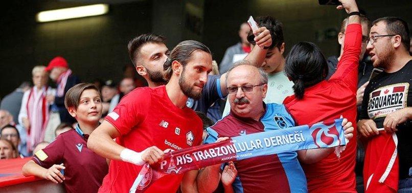 Trabzonsporlular Yusuf'u yalnız bırakmadı