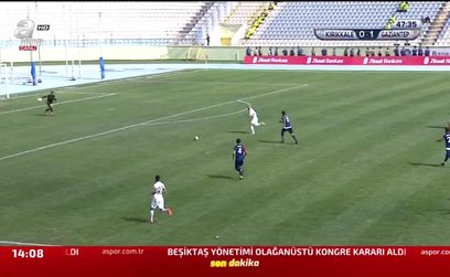 Kırıkkale Büyük Anadoluspor 0-2 Gazişehir Gaziantep