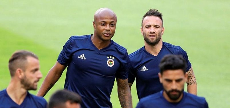 Fenerbahçe'de Ayew sevinci