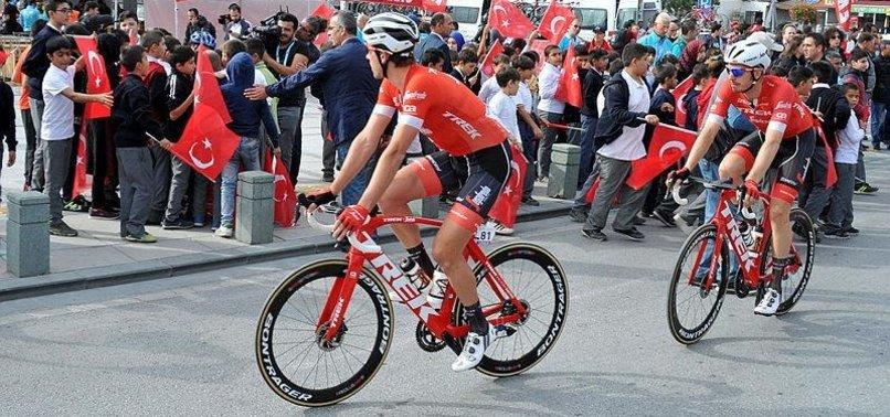 54'üncü Cumhurbaşkanlığı Türkiye Bisiklet Turu start aldı