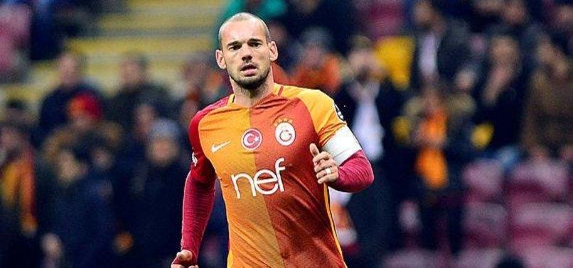 Galatasaray Wesley Sneijder'in doğum gününü unutmadı