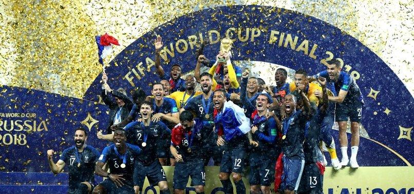 Dünya Kupası Fransa'nın (GENİŞ ÖZET)
