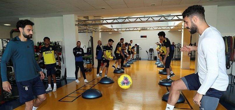 Fenerbahçe Yeni Malatyaspor hazırlıklarını sürdürdü