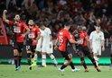PSG Rennes'e yenildi