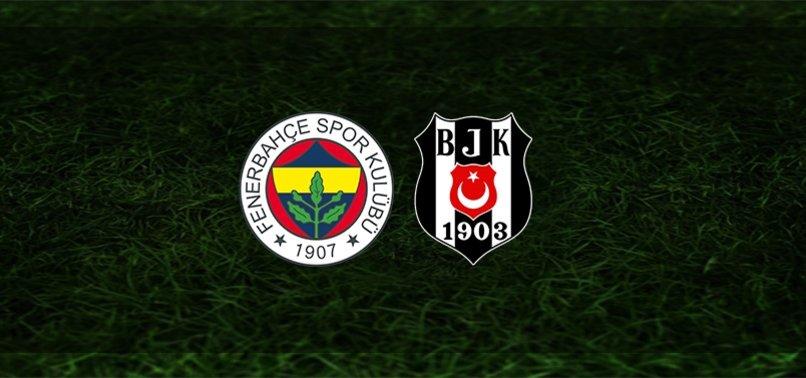 Dev derbiye doğru! Fenerbahçe - Beşiktaş maçı ne zaman, saat kaçta ve hangi kanalda? | Süper Lig