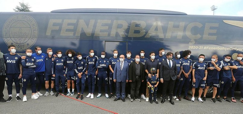 Fenerbahçe yeni otobüsünün tanıtımını yaptı