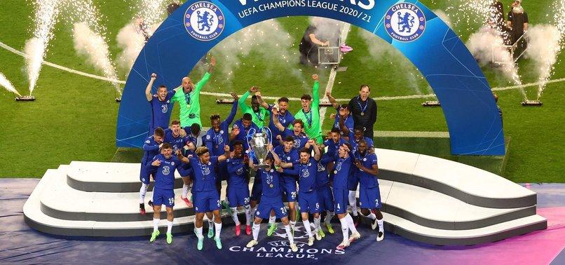 Son dakika spor haberi: Chelsea Şampiyonlar Ligi kupasını kaldırdı! İşte törenden görüntüler...