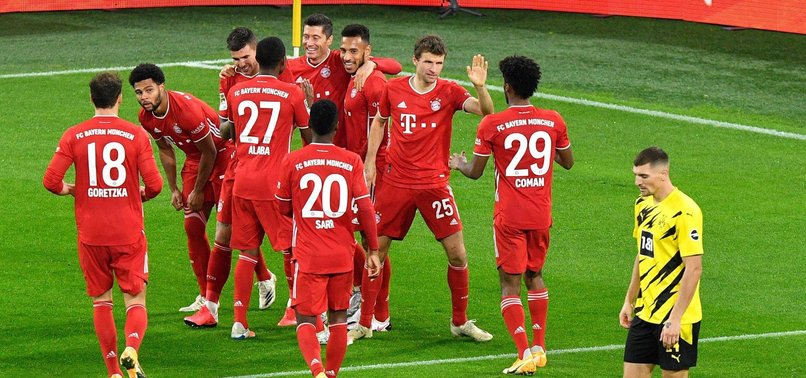 Borussia Dortmund Bayern Münih: 2-3 (MAÇ SONUCU - ÖZET)