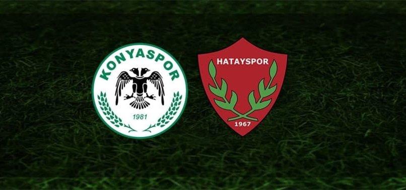 Konyaspor Hatayspor maçı CANLI