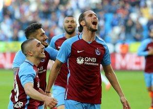 Trabzonsporun Sivasspor karşısındaki ilk 11i