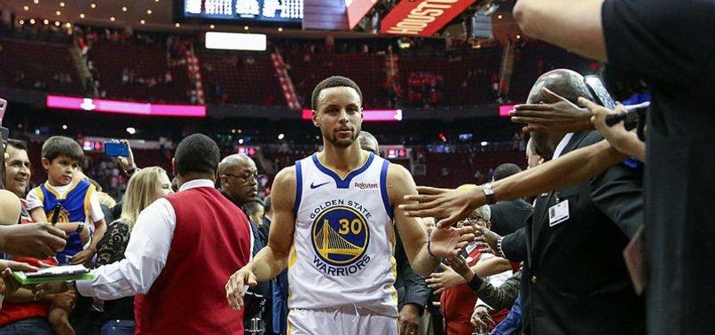 Rockets'ı Warriors durdurdu