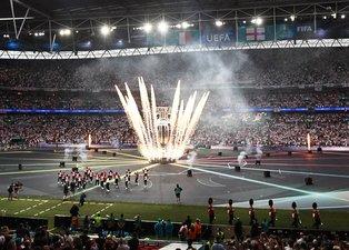 Son dakika EURO 2020 haberi: İtalya - İngiltere finali öncesi Wembley'de görkemli kapanış!