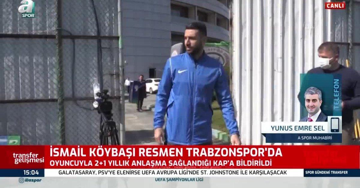 İsmail Köybaşı resmen Trabzonspor'da