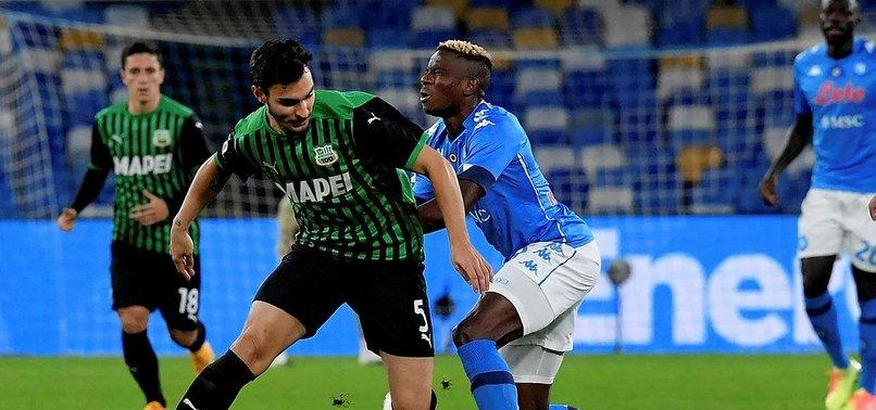 Serie A: Napoli 0-2 Sassuolo | MAÇ SONUCU | Kaan Ayhan ve Mert Müldür'lü Sassuolo Napoli'yi devirdi