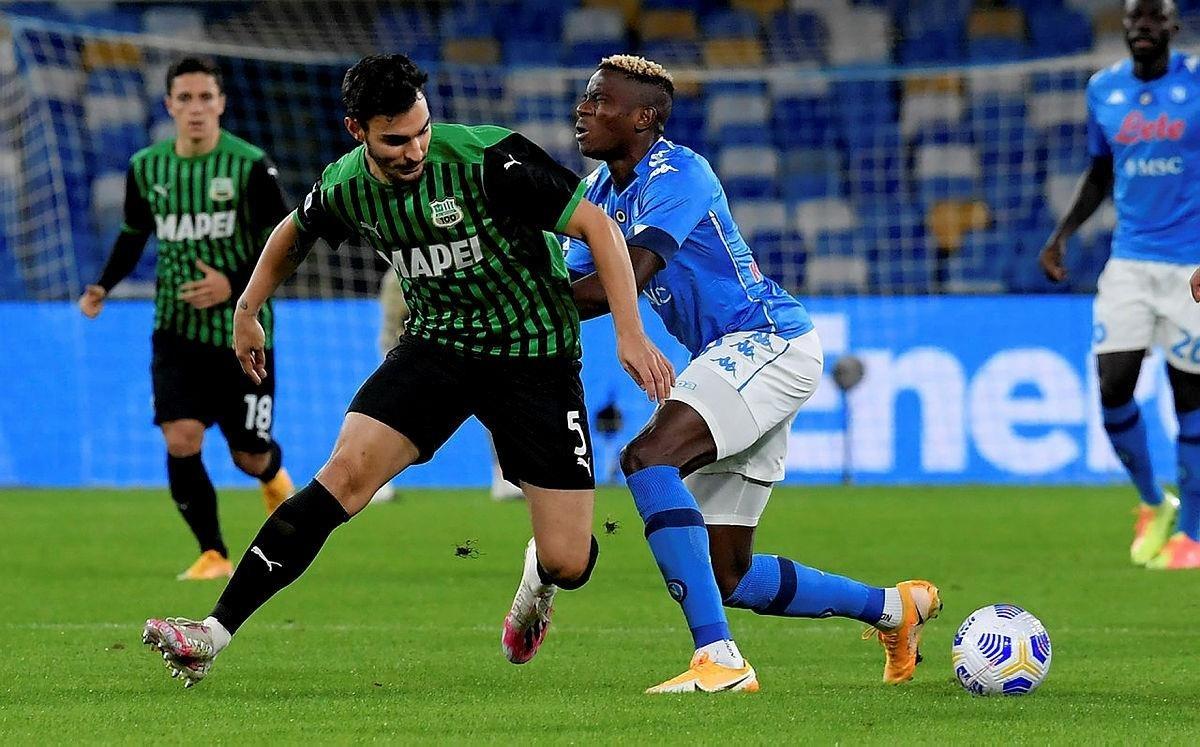 Serie A: Napoli 0-2 Sassuolo   MAÇ SONUCU   Kaan Ayhan ve Mert Müldür'lü  Sassuolo Napoli'yi devirdi - Aspor