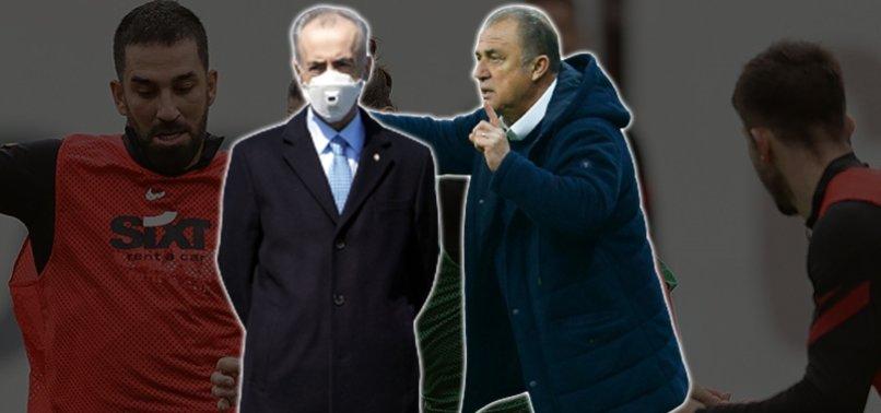 Galatasaraylı futbolculardan Mustafa Cengiz'e tepki! Fatih Terim...