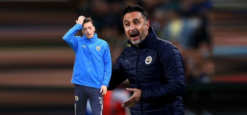 FENERBAHÇE HABERİ - Vitor Pereira'dan Mesut Özil kararı!
