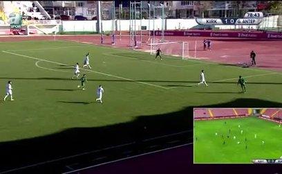 Kırklarelispor 2-0 Gaziantep FK