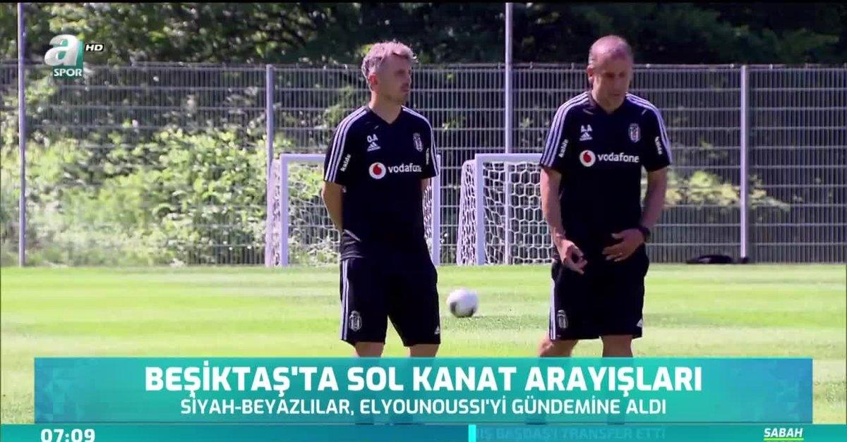Beşiktaş'ta sol kanat arayışları