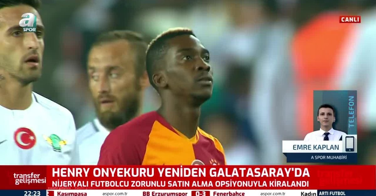 Henry Onyekuru yeniden Galatasaray'da