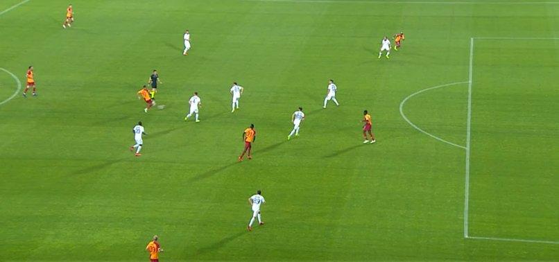 İşte Galatasaray'ın ofsayta takılan golü