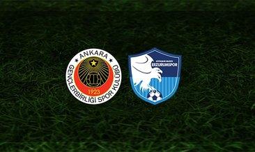 Gençlerbirliği - Erzurumspor maçı saat kaçta ve hangi kanalda?