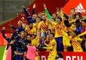 Kral Kupası Barcelona'nın!