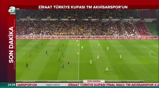 Teleset Mobilya Akhisarspor: 3 - Fenerbahçe: 2 (ÖZET)