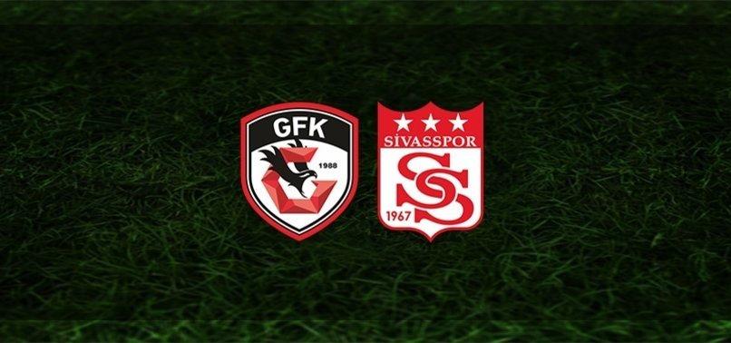 Gaziantep FK - Sivasspor | CANLI