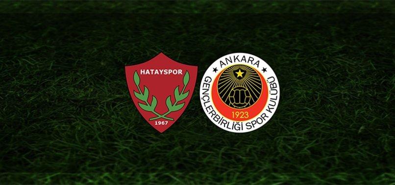 Hatayspor - Gençlerbirliği maçı ne zaman, saat kaçta ve hangi kanalda? | Süper Lig
