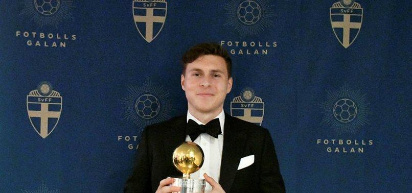 İsveç'te yılın futbolcusu Lindelöf