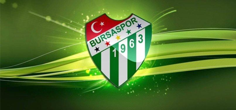 Bursaspor' geçmiş olsun mesajı yayınladı