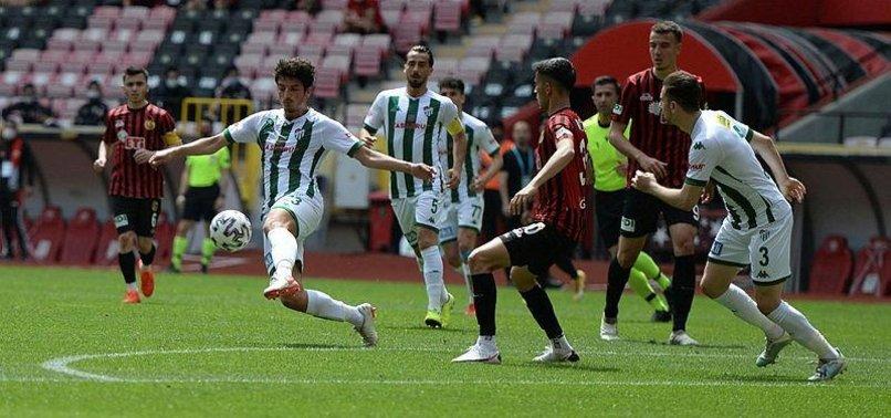Eskişehirspor 1-5 Bursaspor (MAÇ SONUCU-ÖZET)