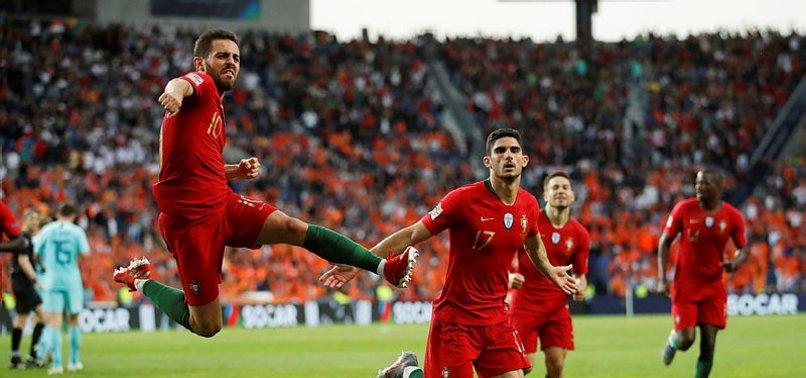 Uluslar Ligi'nin ilk şampiyonu Portekiz!