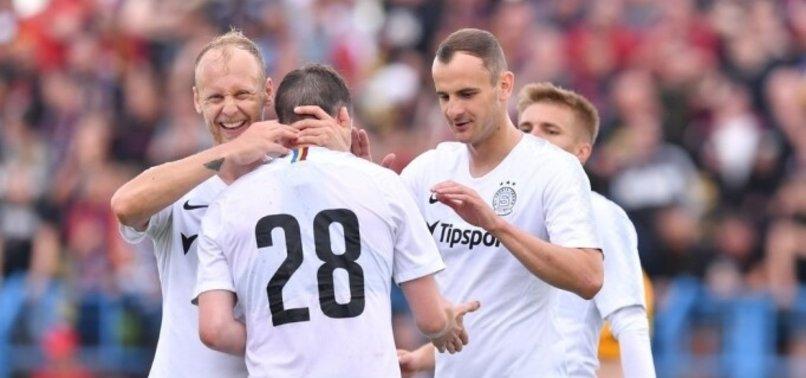 Sparta Prag'a dönen Semih Kaya ilk maçına çıktı