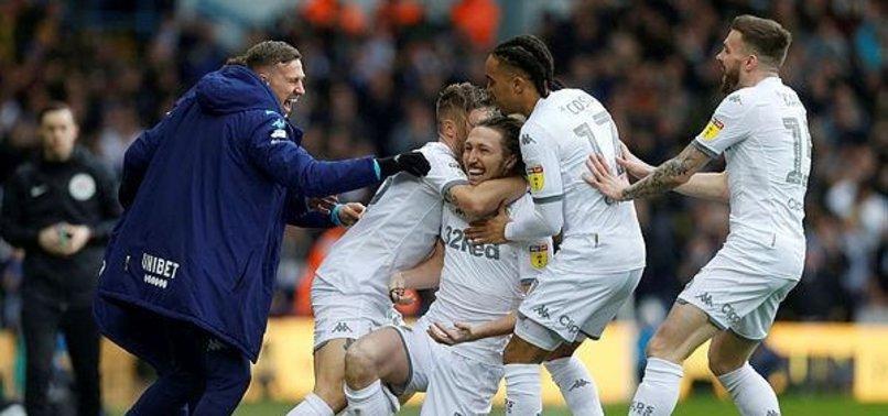 Leeds'li futbolculardan anlamlı hareket