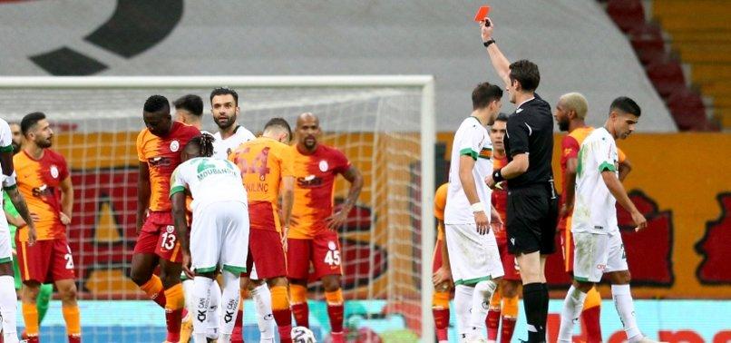 Galatasaray'da Etebo BB Erzurumspor maçında yok! Kırmızı kart...