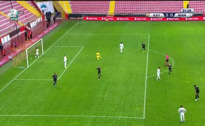 Kayserispor 3-0 Manisa FK