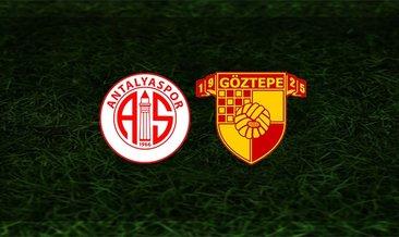 Antalyaspor - Göztepe maçı saat kaçta ve hangi kanalda?
