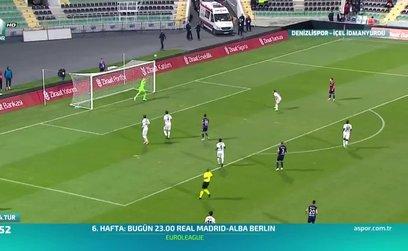 Denizlispor 4-1 İçel İdmanyurdu Spor (ÖZET)