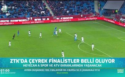 Ziraat Türkiye Kupası'nda çeyrek finalistler belli oluyor