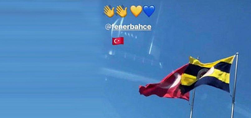 Eljif Elmas'tan Fenerbahçe'ye veda paylaşımı