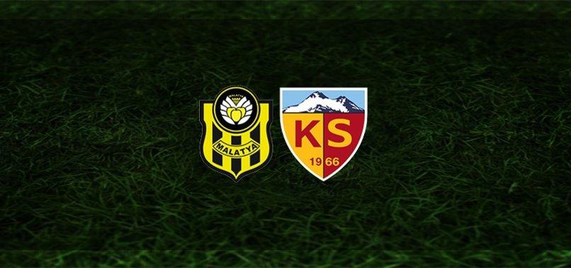 Yeni Malatyaspor - Kayserispor maçı ne zaman, saat kaçta ve hangi kanalda?   Süper Lig